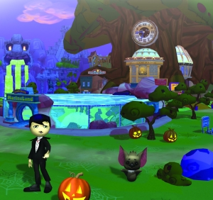 The JumpStart world goes Halloween this month!