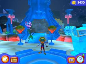 Explore deep sea ruins