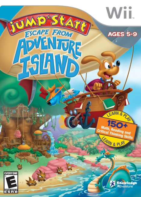 EScape from Adv Island Cover