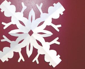 Super Snowman Snowflake