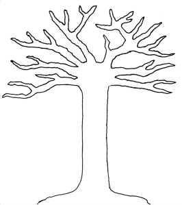 The Giving Thanks Tree Print-Out