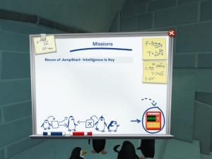 Penguins Mission Board