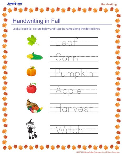 handwriting-in-fall