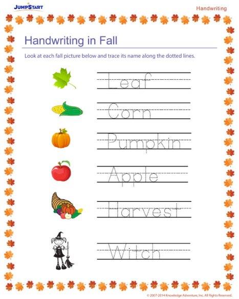 handwriting-in-fall