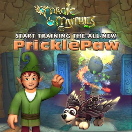 PricklePaw-E
